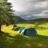 Camping Italienska Alperna